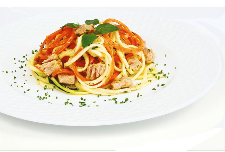 Špagety s tuniakom Calvo