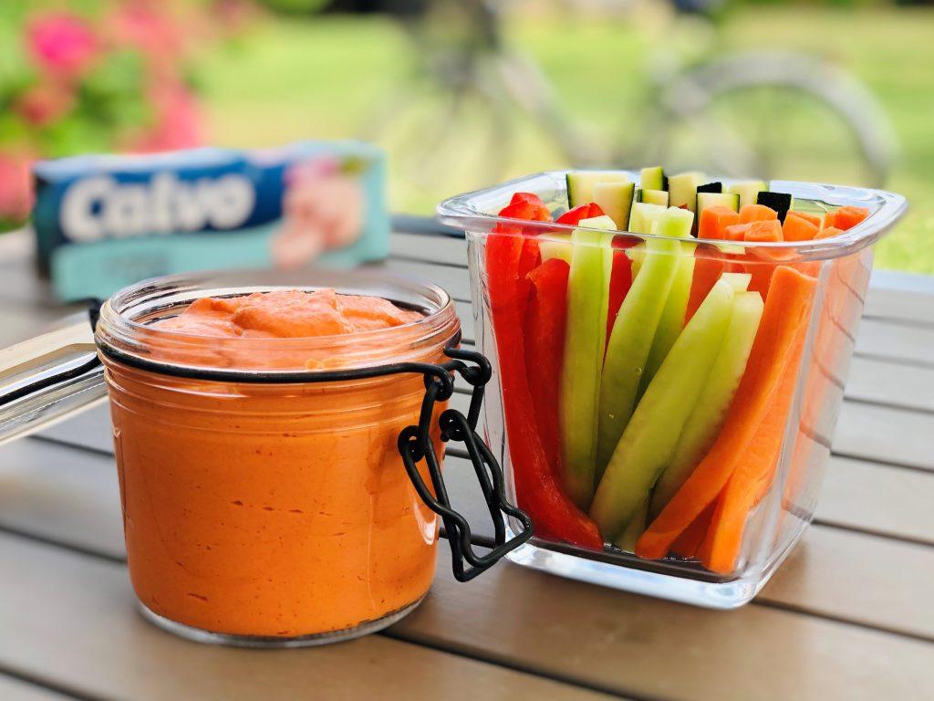 Paprikové paté stuniakom