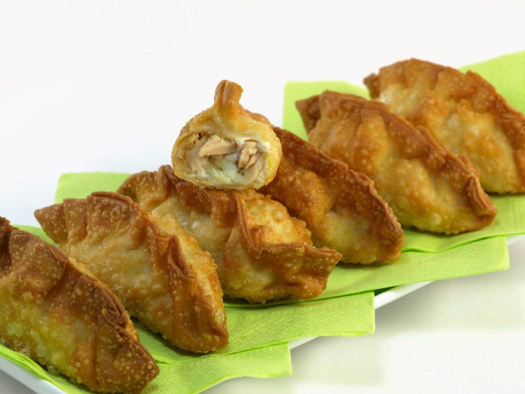 Tuniakové taštičky sosyrom apórom