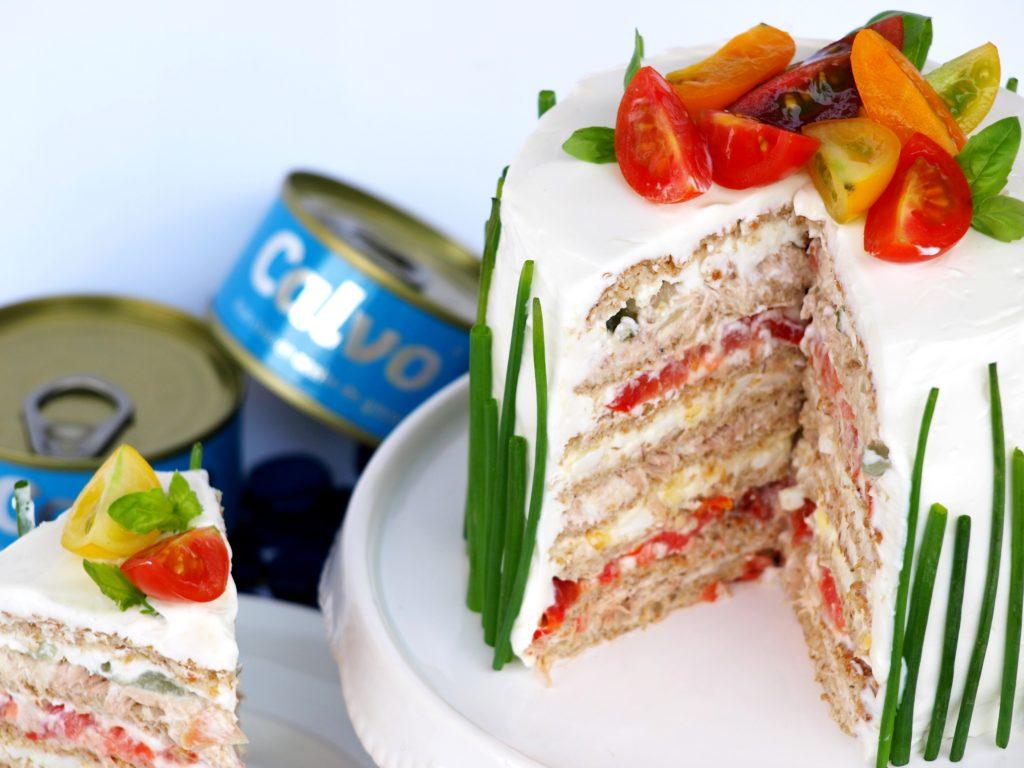Tuniaková torta