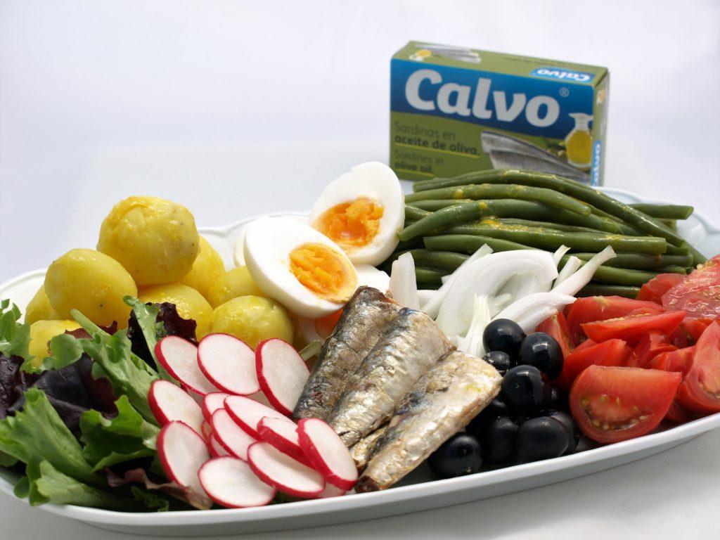 Salade niçoise sosardinkami