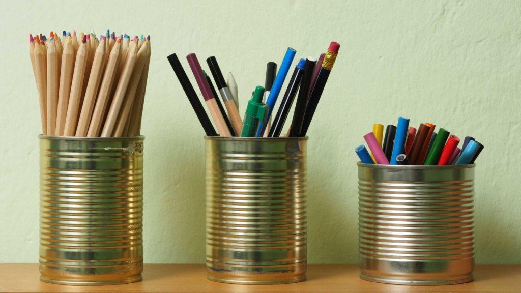 Ako využiť konzervy - skladovanie vecí - kreatívne nápady
