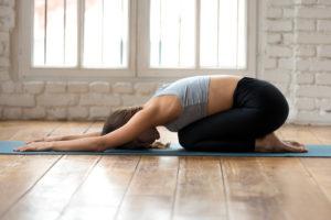 Jóga pozícia - Poloha dietaťa - jóga pre začiatočníkov